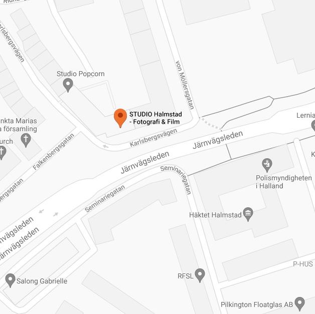 STUDIO Halmstad adress