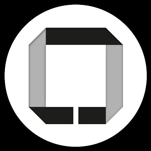 Icoon rond Studio Paspoort Zwart
