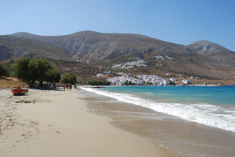 Aegiali Sandy Beach Amorgos
