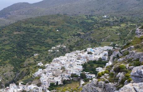 The Village of Langada Amorgos