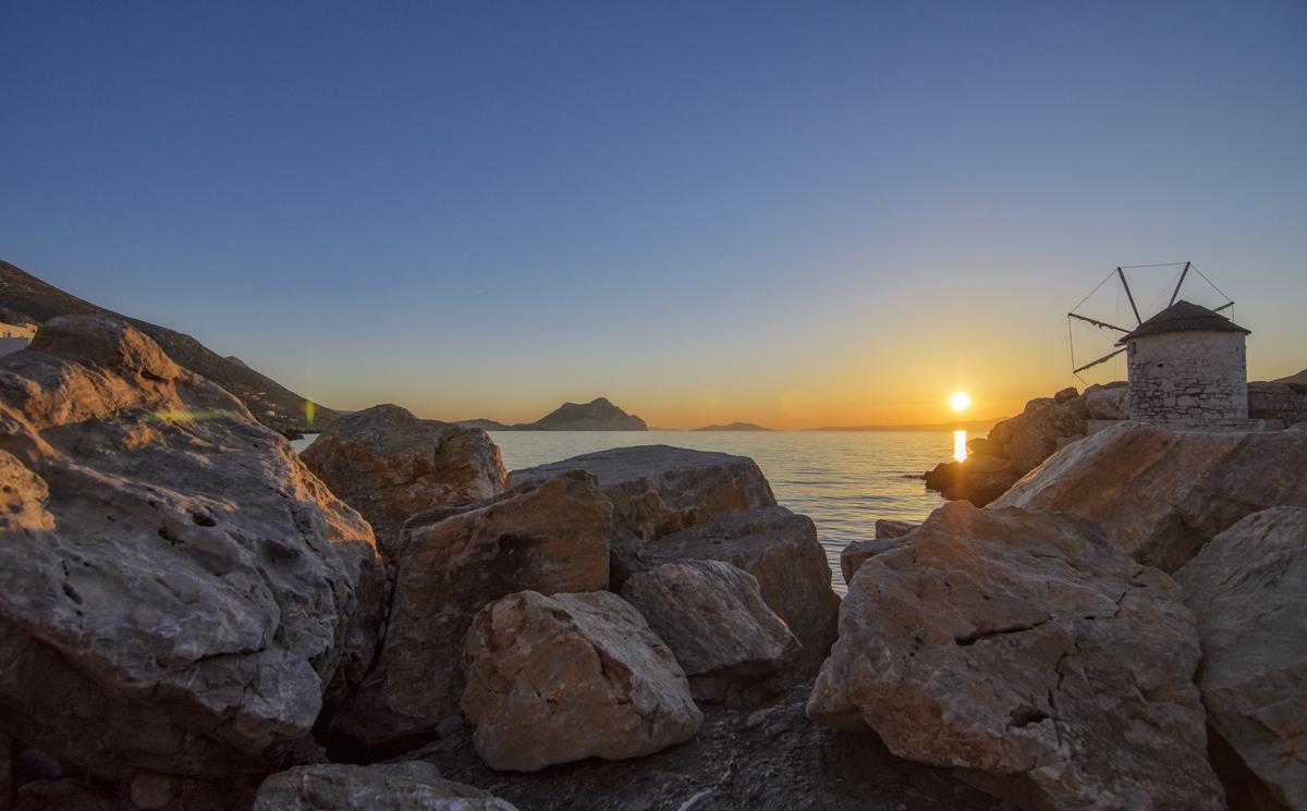 The port of Aegiali