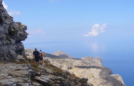 Walking to Stavros