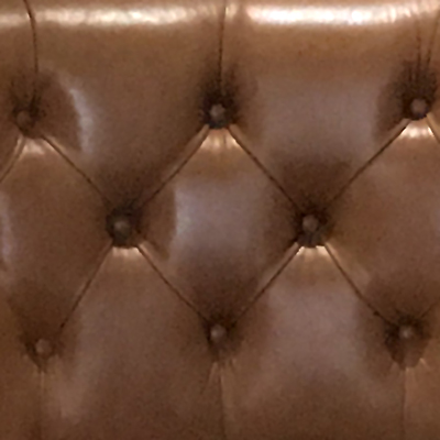 Deep buttoned seating detail