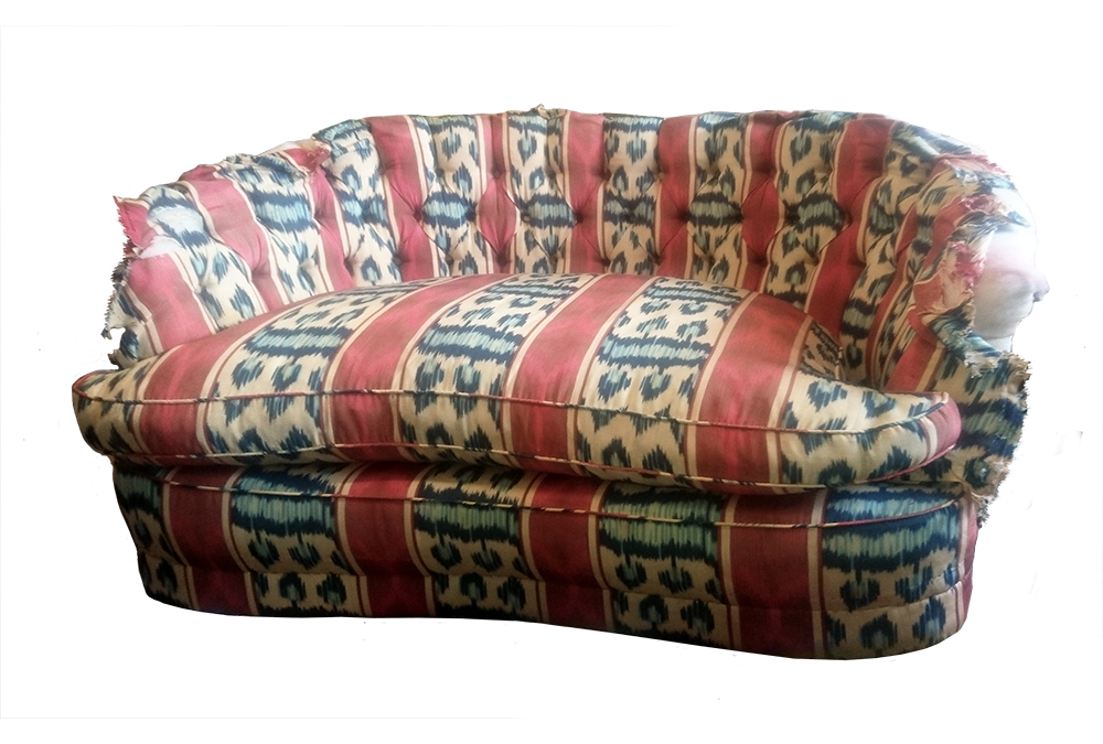 Two Seat Sofa - Before Recovery