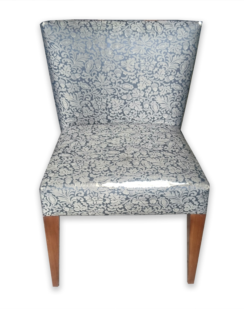 Silk Chair Before Recovery