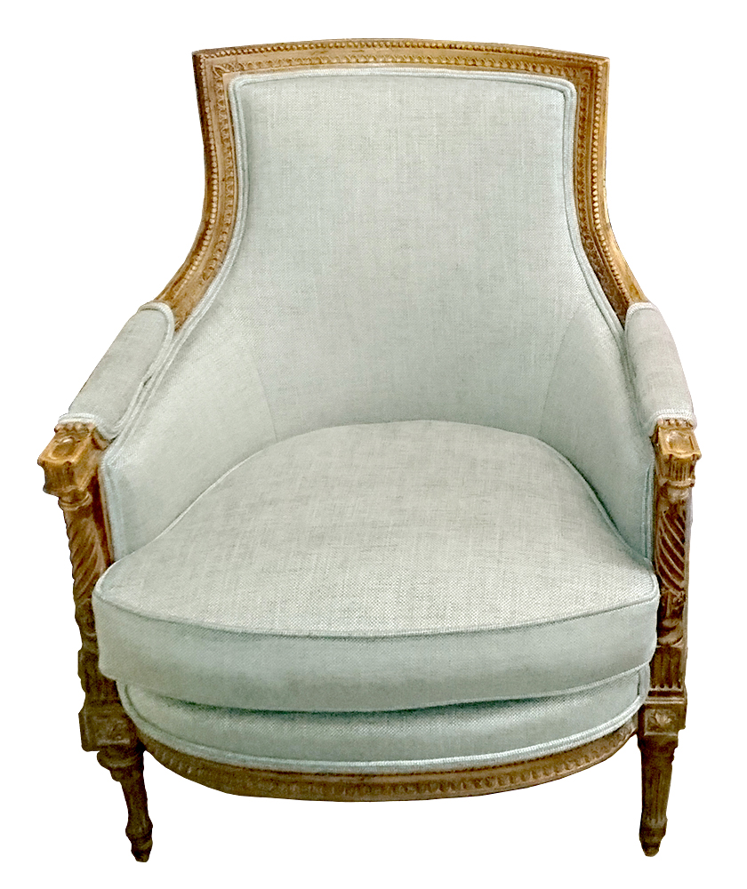 French Tub Chair - After Recovery