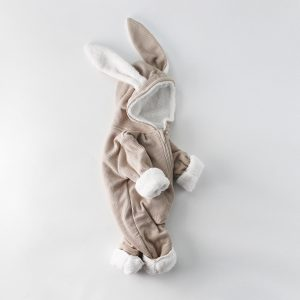 Jumpsuit Bunny Winter Beige