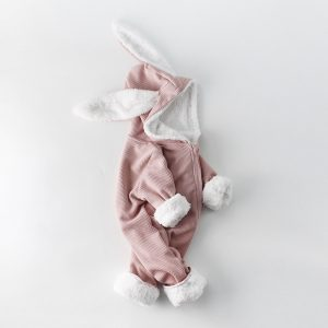 Jumpsuit Bunny Winter Pink