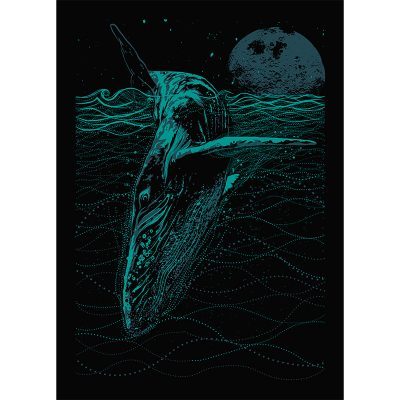 product picture of Blue Whale art print