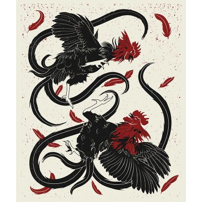 product photo of Cock Fight art print