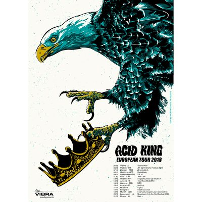 product photo of tour poster for Acid King