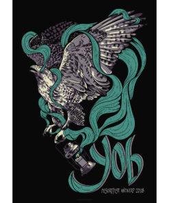 product photo of poster for YOB concert at Desertfest Antwerp 2018
