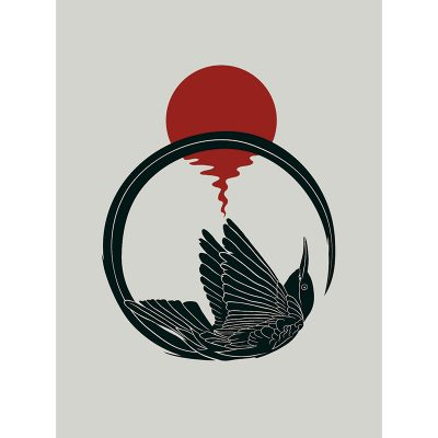 Product photo of Astral Bird art print