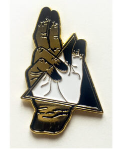 product photo of Portal Hand enamel pin