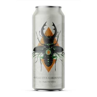 Label for Collective Gardening beer