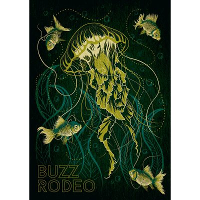 design of poster for Buzz Rodeo