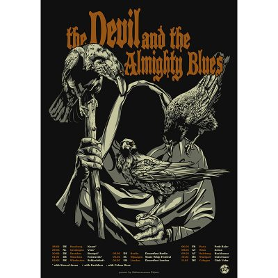 picture of Tour poster for The Devil and the Almighty Blues 2019