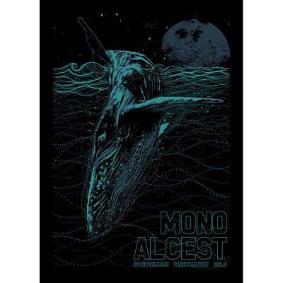 design of gigposter for Mono and Alcest, Oslo 2016