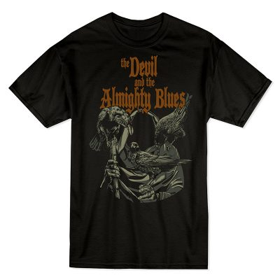 T-shirt for The Devil and the Almighty Blues