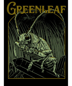 Gigposter for Greenleaf at Desertfest Berlin 2019