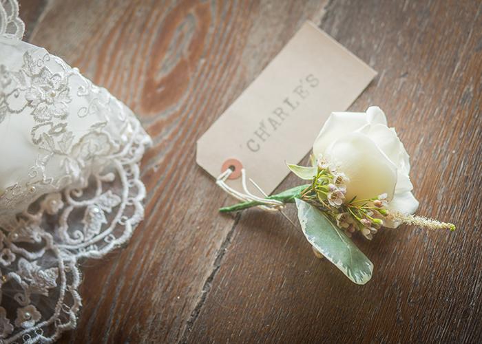 hotel du vin newcastle wedding buttonhole