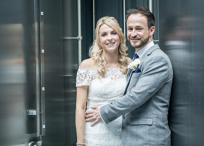 bride groom wylam brewery silver vats