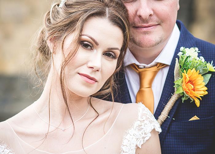 bride groom northumberland wedding photos