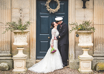 eshott hall northumberland military wedding photography