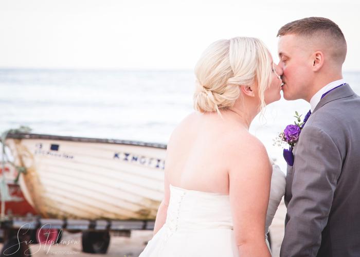 beach wedding northumberland photography