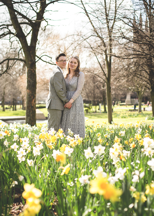 spring wedding newcastle