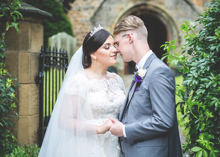 bride groom ponteland church
