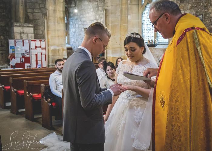 church exchanging rings