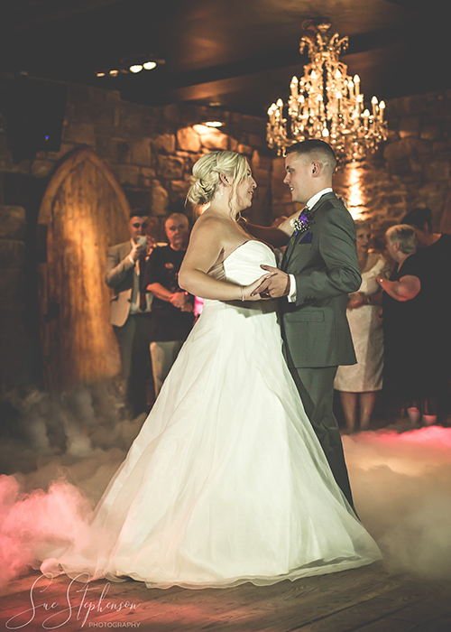 first dance dry ice