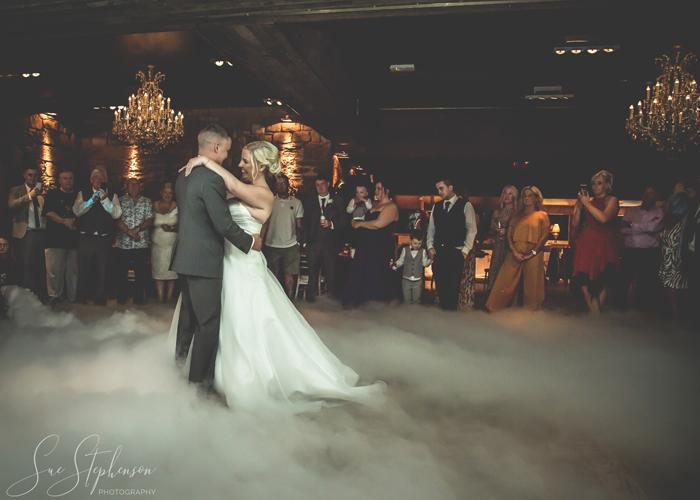 newton hall wedding first dance