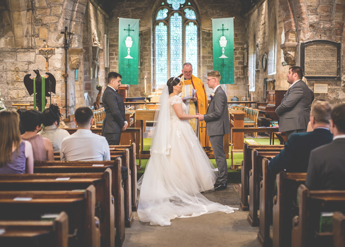 ponteland church wedding