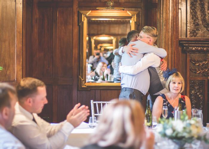speeches hugs