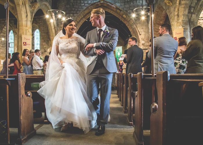 st marys ponteland wedding