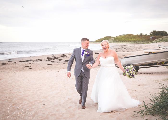 wedding photography in Low Newton Northumberland