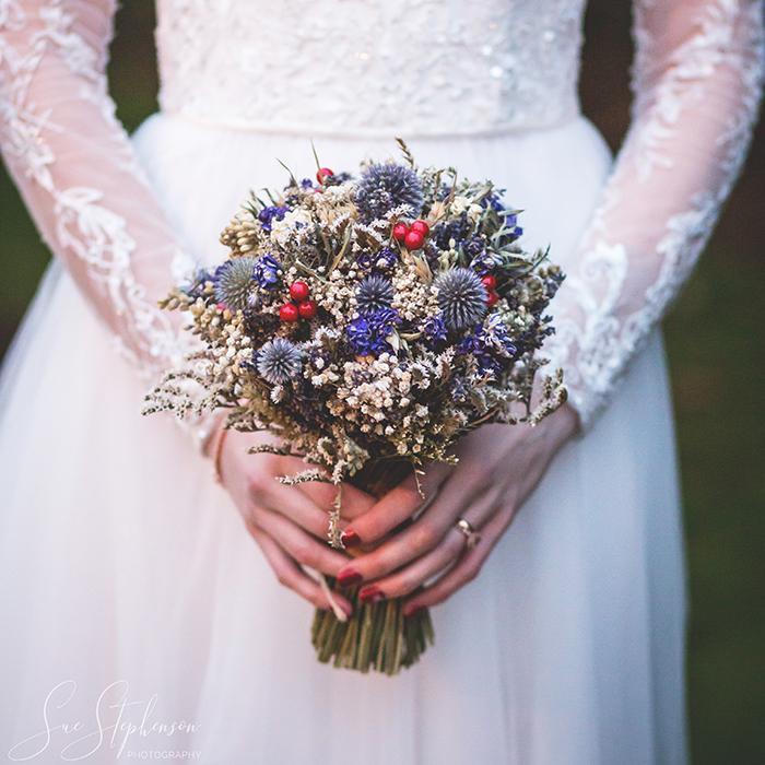 backworth wedding boquet