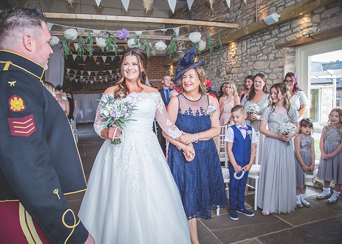 northumberland barn wedding