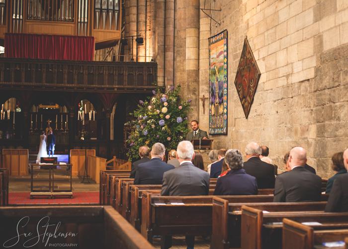 hexham abbey wedding reading