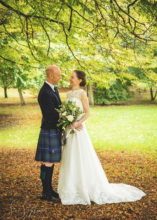 hexham park wedding photos