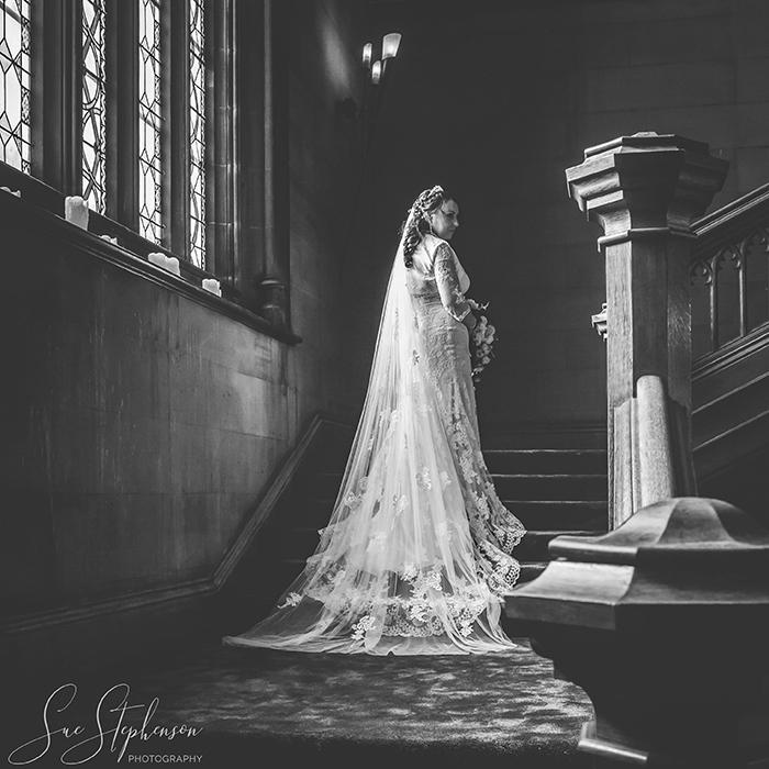 matfen hall bride