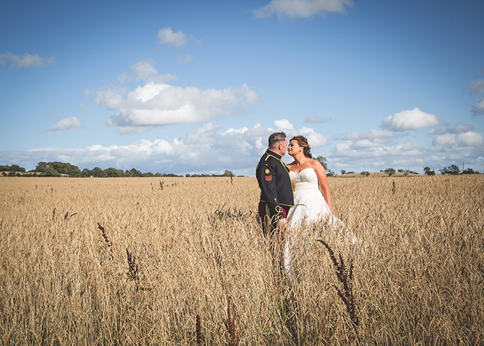 northumberland countryside wedding