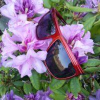 Røde solbriller
