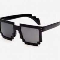 Sort 8-BIT Solbriller