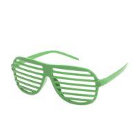 Grønne retro partybrille