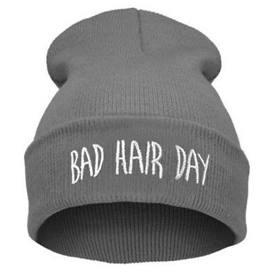 "Grå hue""Bad hair day"" 2"
