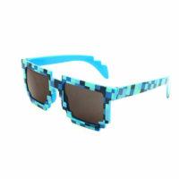 Blå 8-BIT Solbriller.