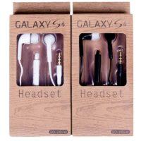 Headset til Galaxy S4 i hvid eller sort